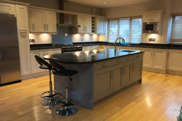 Contemporary kitchen refurbishment