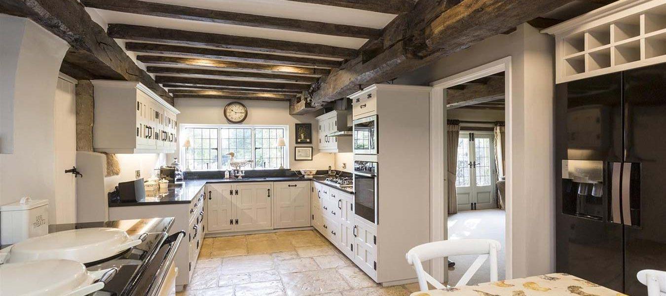 classic white kitchen refurbishment