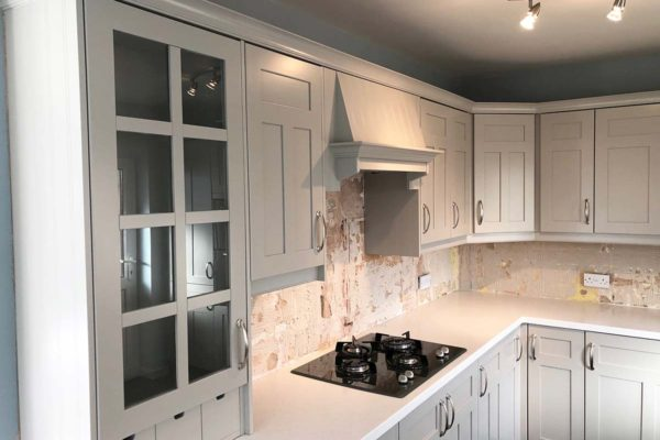 light grey cupboards